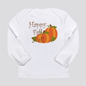 Happy Fall Y'all Long Sleeve T-Shirt
