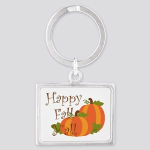 Happy Fall Y'all Keychains
