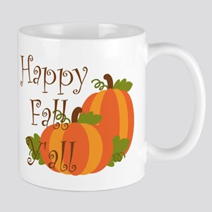 Happy Fall Y'all Mugs