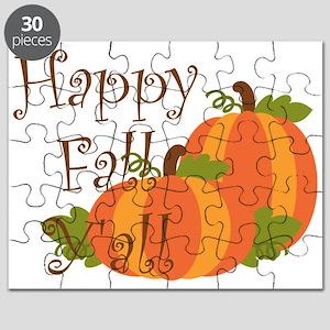 Happy Fall Y'all Puzzle