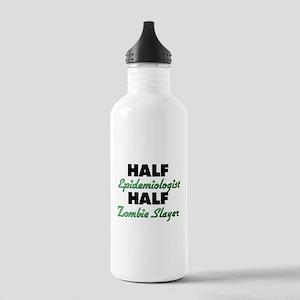 Half Epidemiologist Half Zombie Slayer Water Bottl