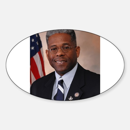 Tea Party favorite Allen West Decal