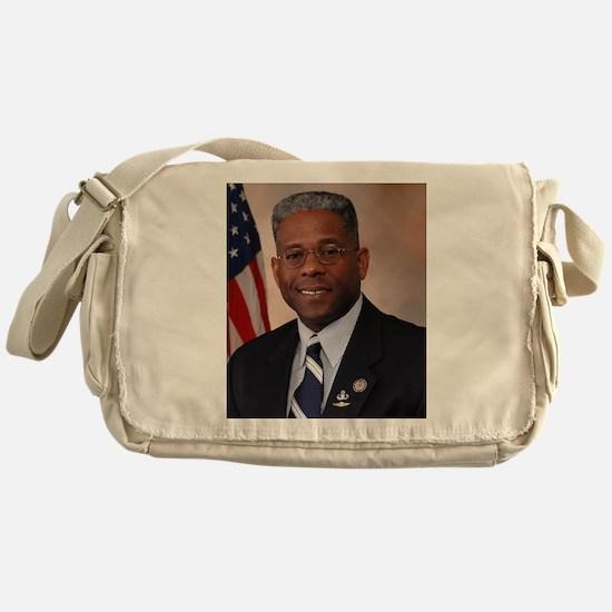 Tea Party favorite Allen West Messenger Bag