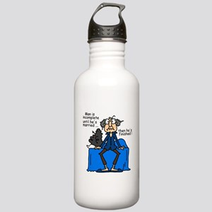 Men and Marriage Stainless Water Bottle 1.0L