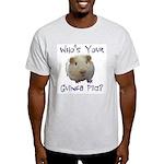 Ash Grey T-Shirt &Quot;Who's Your Guinea Pig&Quot;