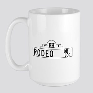 Rodeo Dr., Los Angeles - USA Large Mug