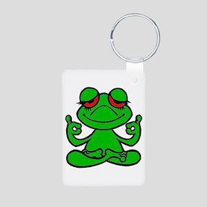 Frog Lotus Keychains