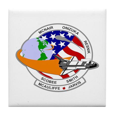 STS-52L Challenger's Last Tile Coaster