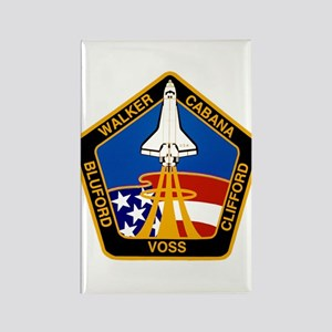STS-53 Discovery Rectangle Magnet