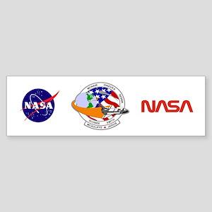 STS-52L Challenger's Last Sticker (Bumper)