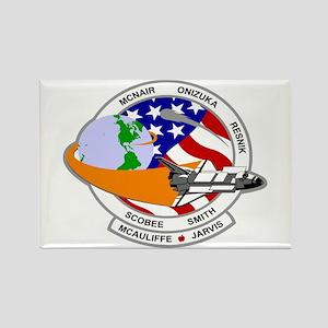 STS-52L Challenger's Last Rectangle Magnet