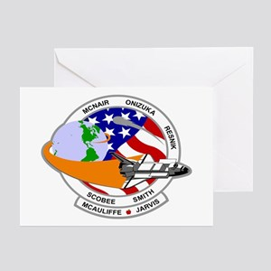 STS-52L Challenger's Last Greeting Cards (Pk of 10