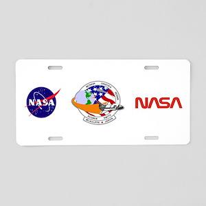 STS-52L Challenger's Last Aluminum License Plate