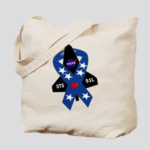 Challenger Commemorative Patch Tote Bag