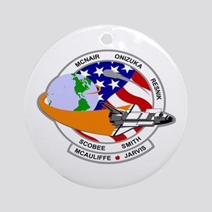 STS-52L Challenger's Last Ornament (Round)
