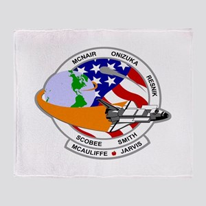 STS-52L Challenger's Last Throw Blanket