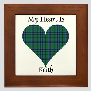 Heart - Keith Framed Tile