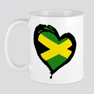 Jamaica One Heart Mug