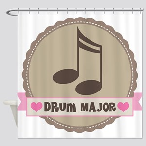 Drum Major gift Shower Curtain