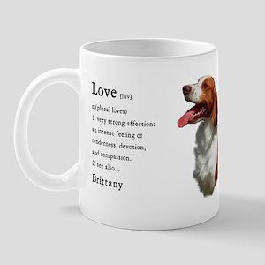American Brittany Spaniel Mug