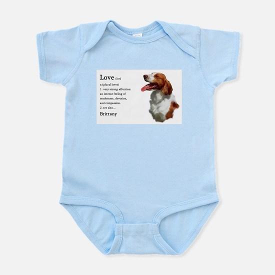 American Brittany Spaniel Infant Bodysuit