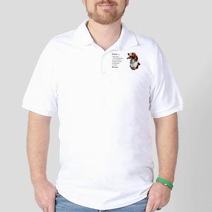 American Brittany Spaniel Golf Shirt