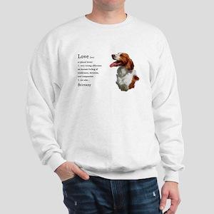American Brittany Spaniel Sweatshirt