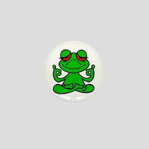 Frog Lotus Mini Button