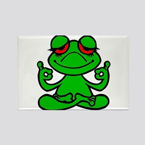 Frog Lotus Magnets