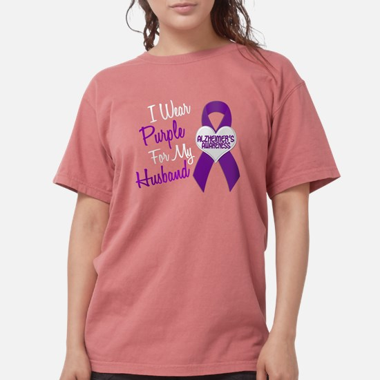 I Wear Purple For My Husband 18 (AD) T-Shirt