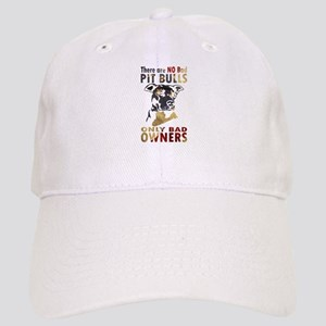 NO BAD PIT BULLS AF4 Baseball Cap