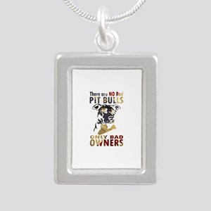 NO BAD PIT BULLS AF4 Necklaces