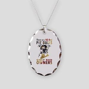 NO BAD PIT BULLS AF4 Necklace