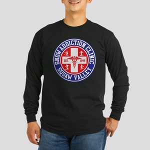 Squaw Valley Snow Addiction Clinic Long Sleeve Dar