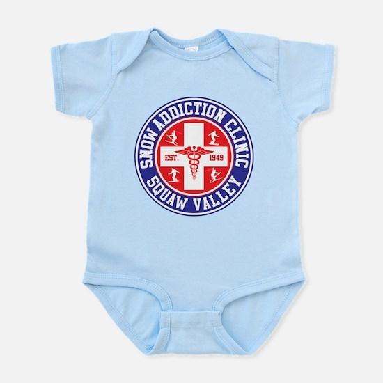Squaw Valley Snow Addiction Clinic Infant Bodysuit