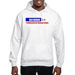 Self-Defense is Fundamental Hooded Sweatshirt