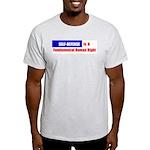Self-Defense is Fundamental Ash Grey T-Shirt