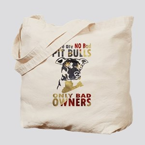 NO BAD PIT BULLS AF4 Tote Bag