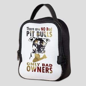 NO BAD PIT BULLS AF4 Neoprene Lunch Bag