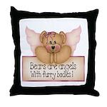 Bears are Angel's Throw Pillow