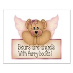 Bears are Angel's Small Poster