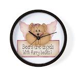 Bears are Angel's Wall Clock