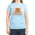 Bears are Angel's Women's Pink T-Shirt