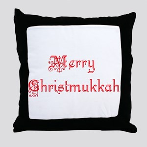 merrychristmukkah1 Throw Pillow
