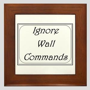 ignore wall commands Framed Tile