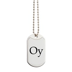 Oy Shoes Dog Tags