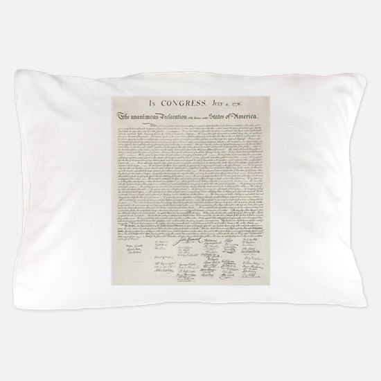 United States Declaration of Independence Pillow C