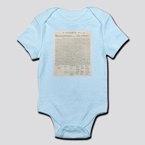 United States Declaration of Independence Body Sui