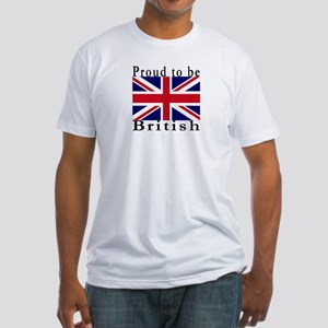 Great Britain Fitted T-Shirt