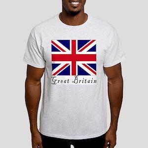 Great Britain Ash Grey T-Shirt